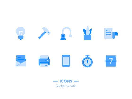 Icons-blue